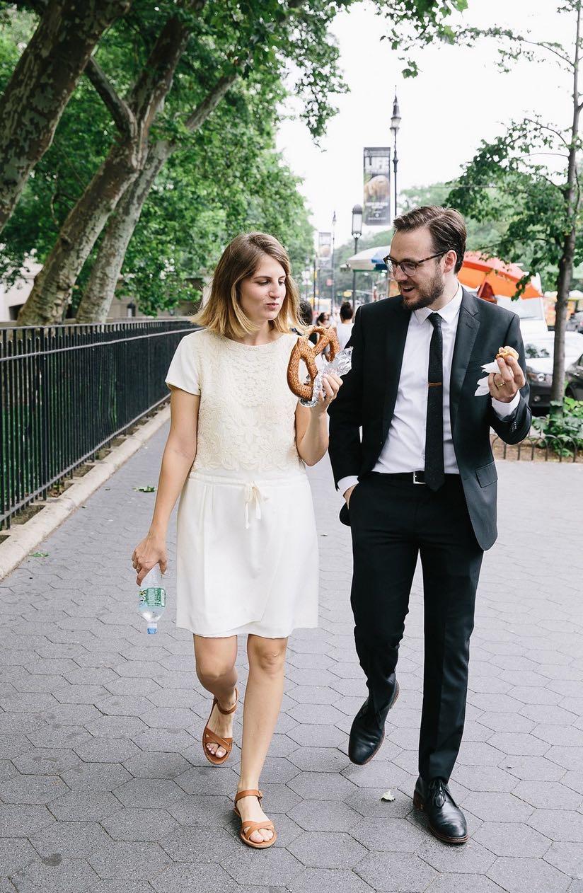 Casual New York City Wedding