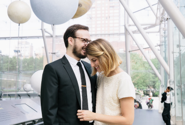 Casual New York City Wedding