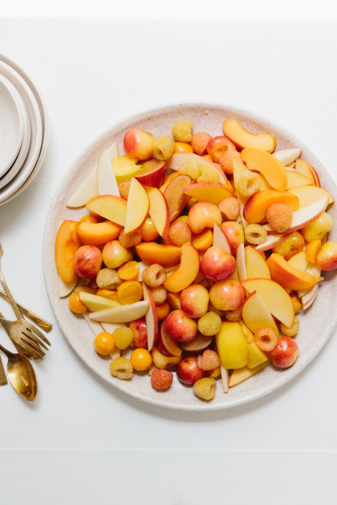 how to make fruit salad golden fruit
