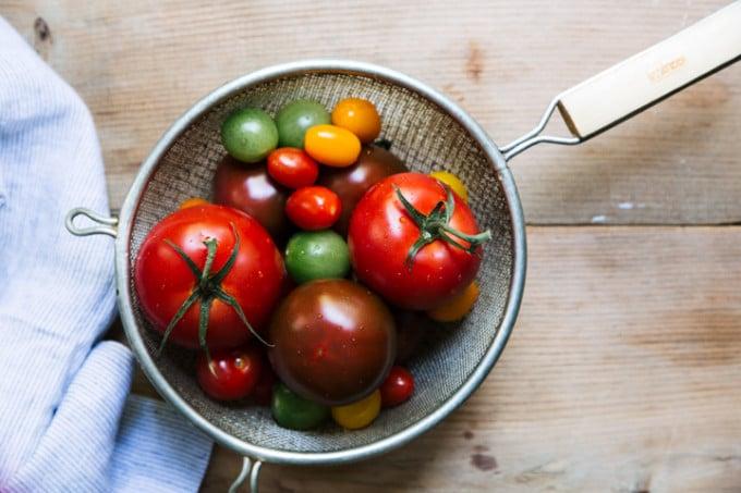 Three-Ingredient Tomato Sandwich