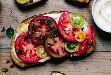 Three-Ingredient Tomato Sandwich
