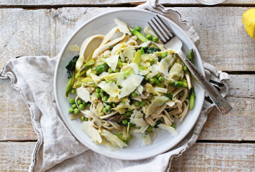 Fettuccine With Lemon