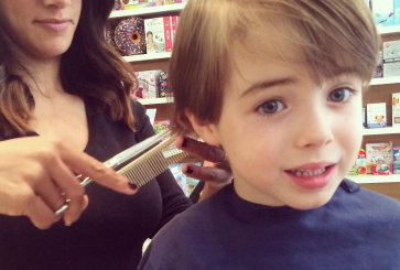 Toby's First Haircut