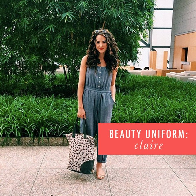 My Beauty Uniform: Claire Mazur