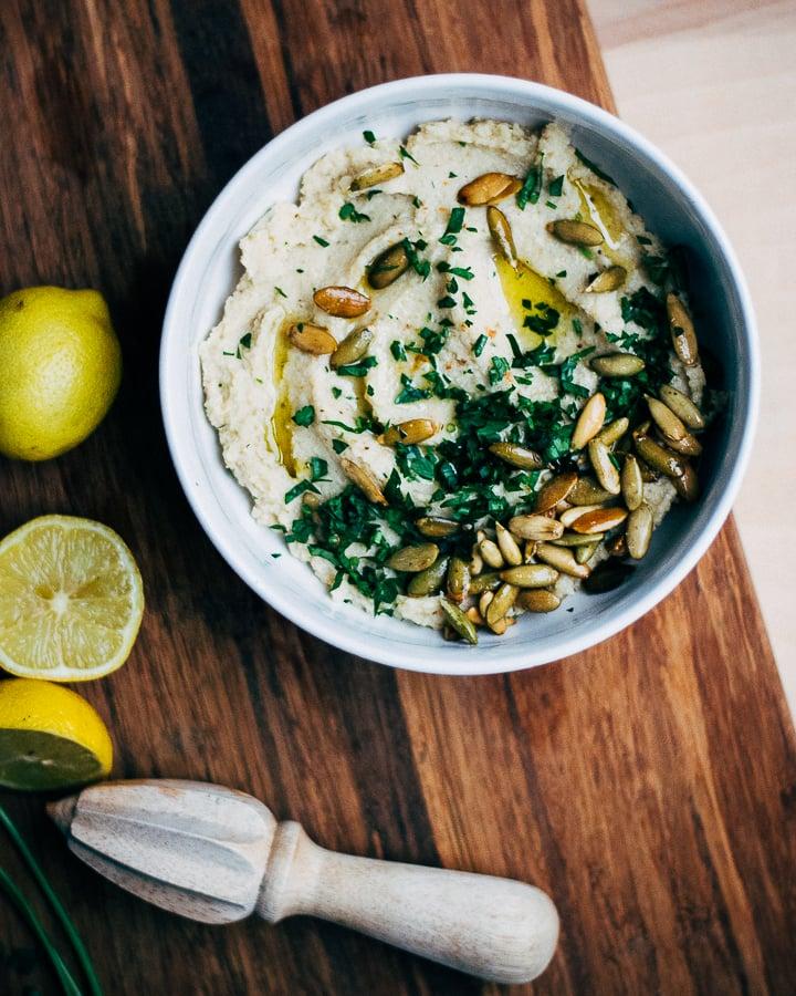 Roasted Cauliflower and Garlic Dip