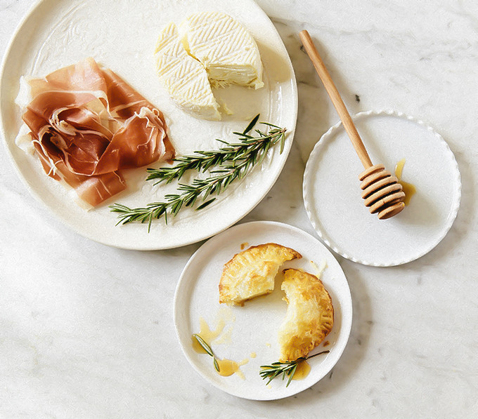 Bite-Sized Baked Brie With Honey and Rosemary