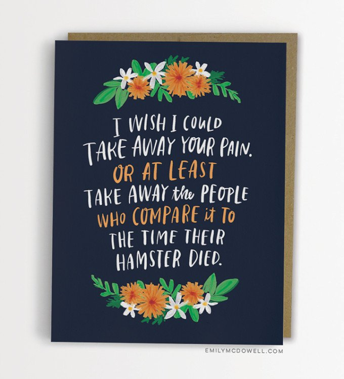 Seven New Empathy Cards by Emily McDowell