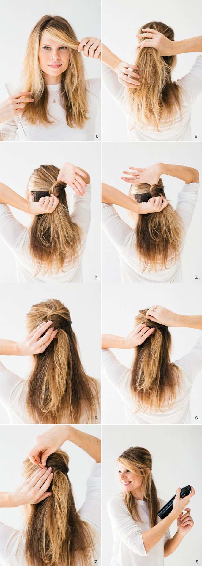 Hair tutorial two minute twist a cup of jo two minute twist baditri Image collections
