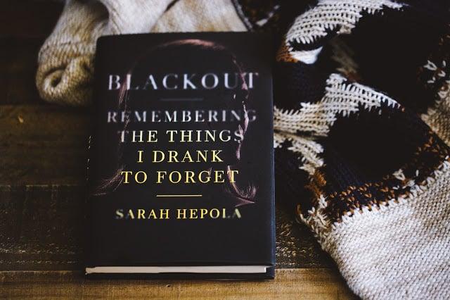 Blackout book by Sarah Hepola