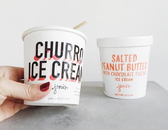 Jeni's Churro Flavored Ice Cream