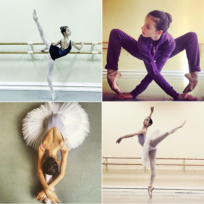 Marachok ballet dancer on Instagram