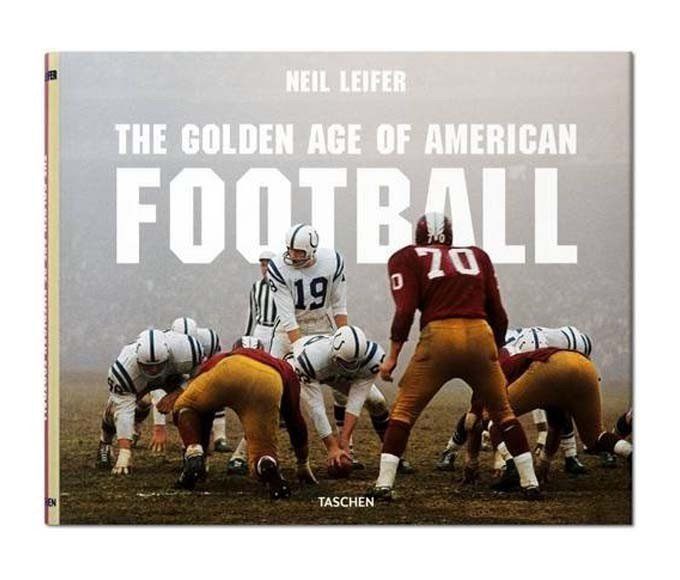 The Golden Age of American Football photography book
