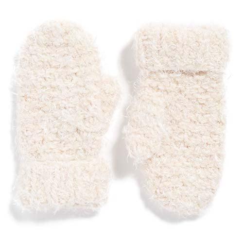 Popcorn Knit Mittens