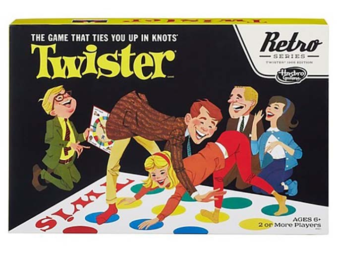Retro Twister game