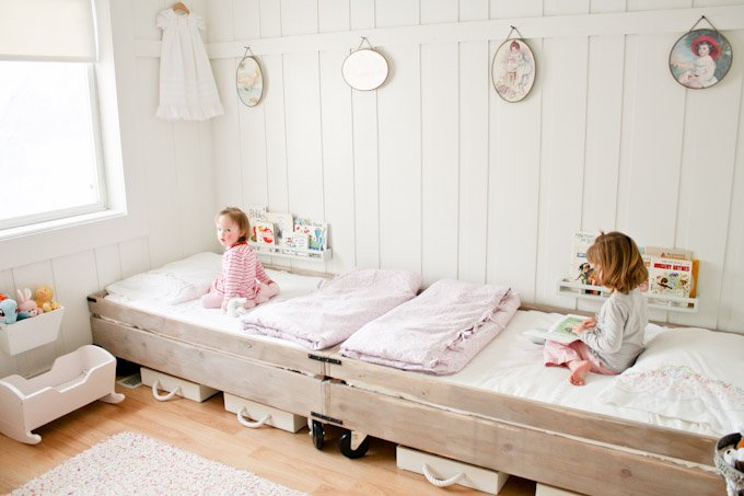shared kids rooms a cup of jo rh cupofjo com kids sharing room baby waking up Twin Sharing Room