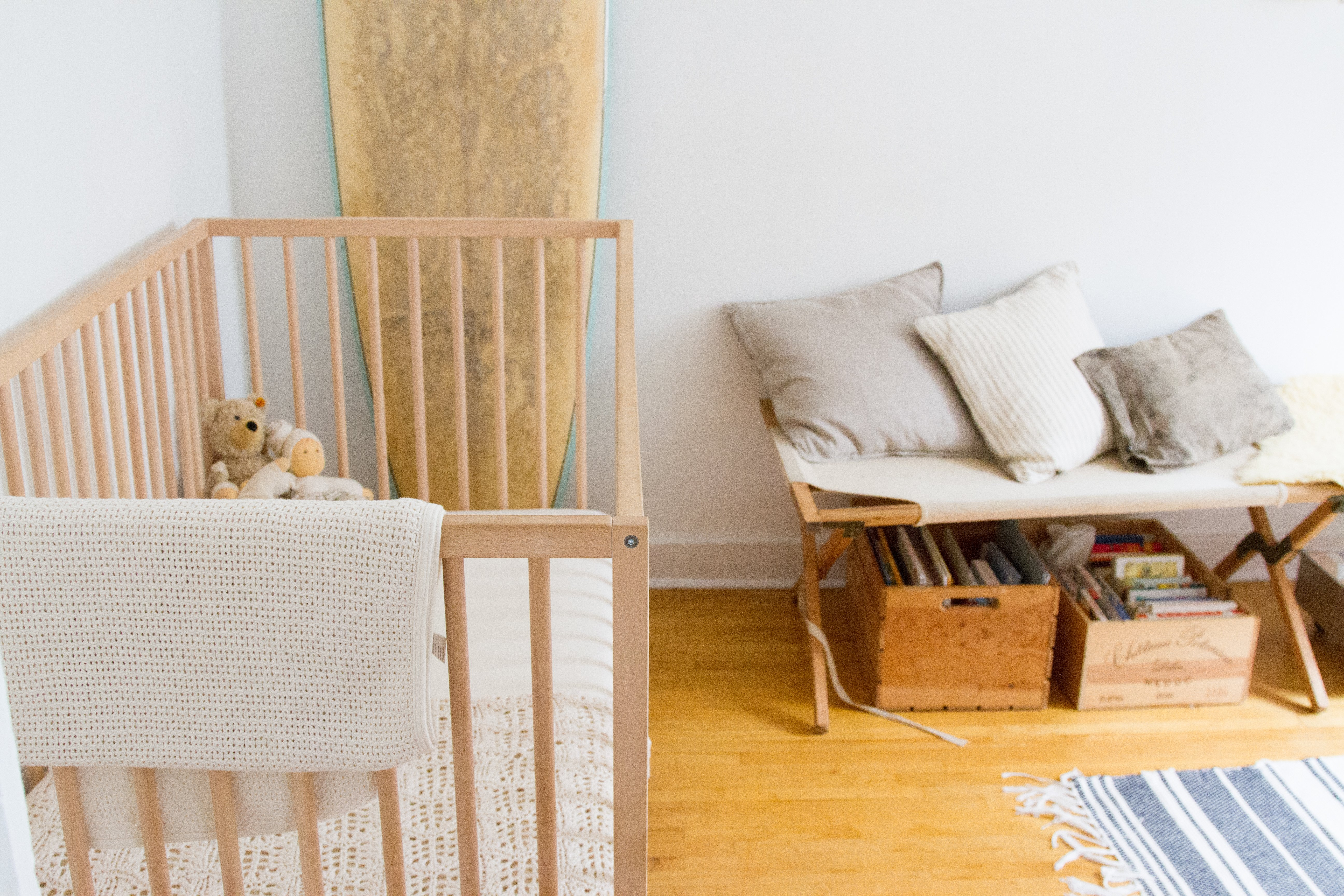 Baby cribs living spaces - 14 Tips For Living In A Small Space