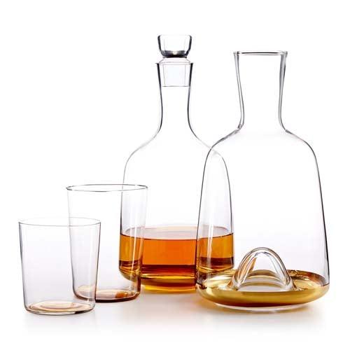 Gold-Tone Glassware