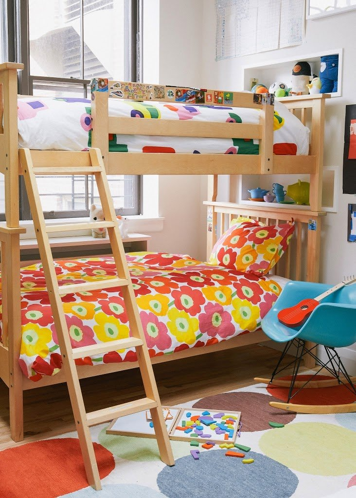 Vintage Shared Kids Rooms