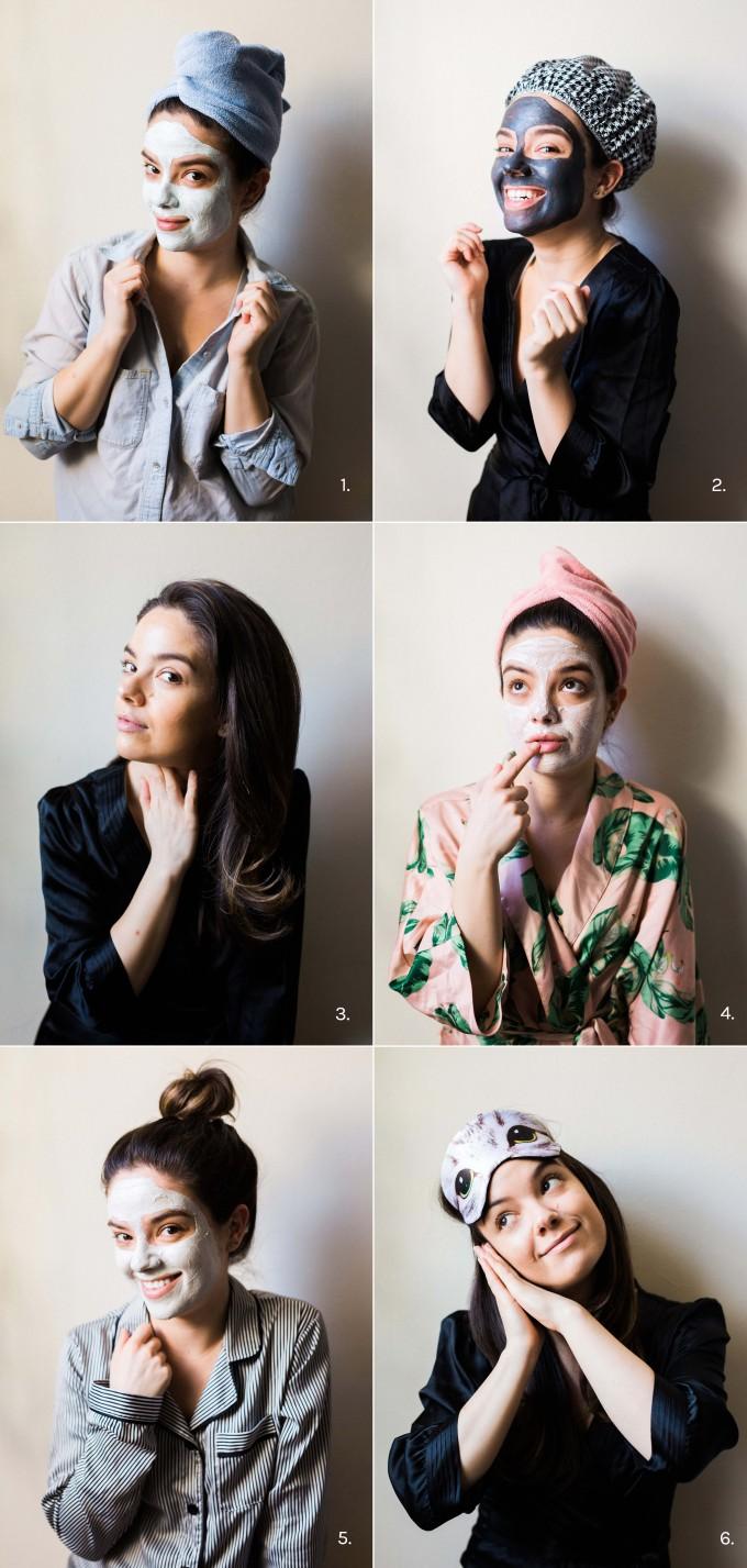 6 Face Masks