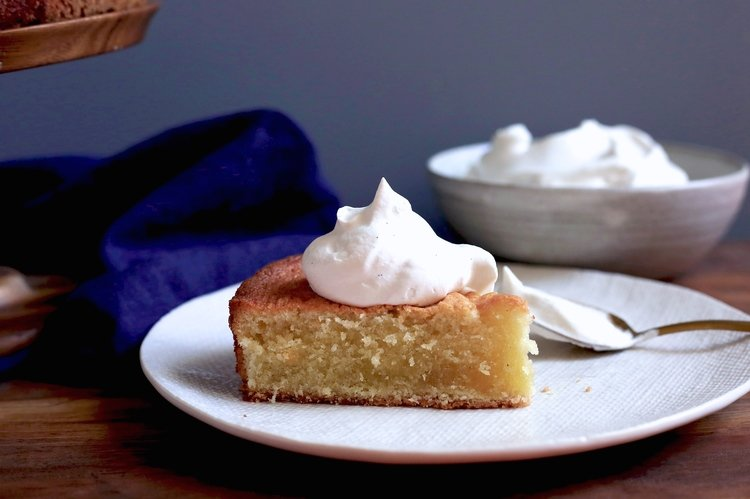 Double Vanilla Butter Cake | A Cup of Jo