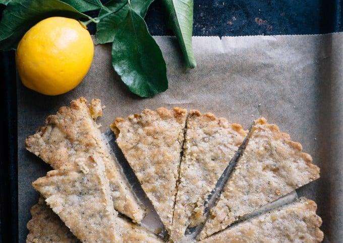 Meyer Lemon Shortbread