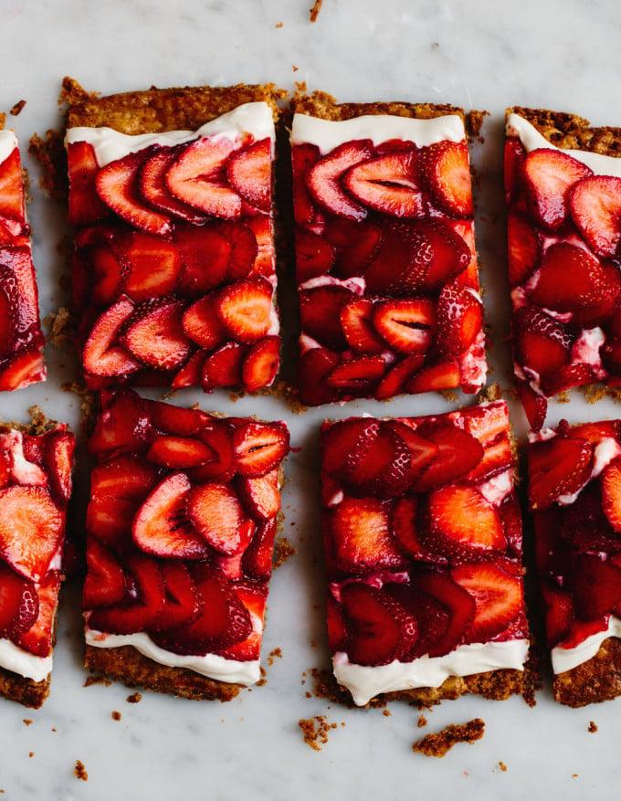 Simple Strawberry Tart