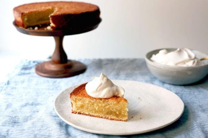 Double Vanilla Butter cake