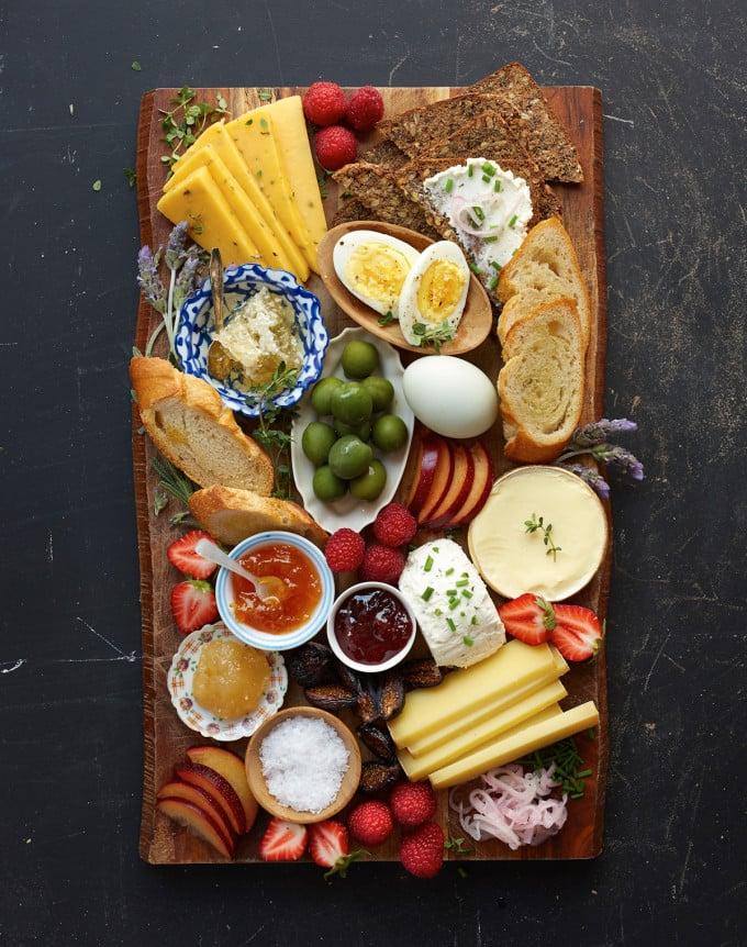 Food Sharing Board Ideas