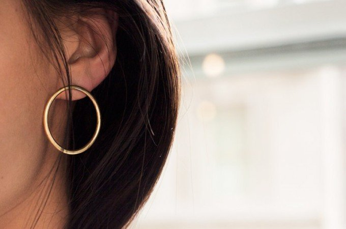 Soko hoop earrings