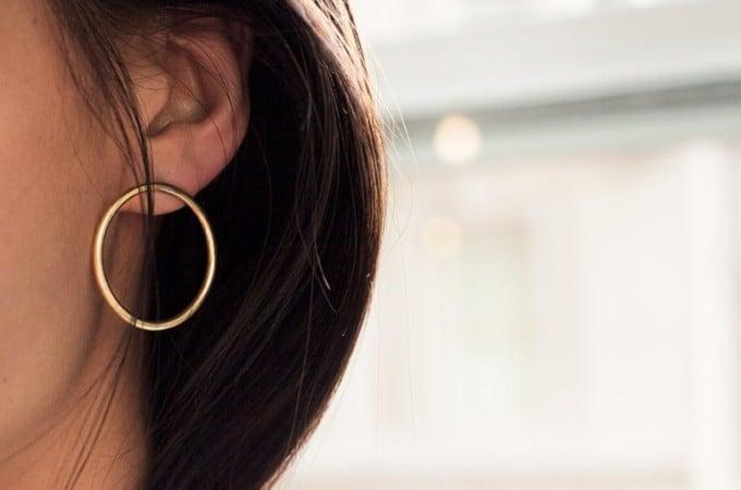Soko hoop earrings