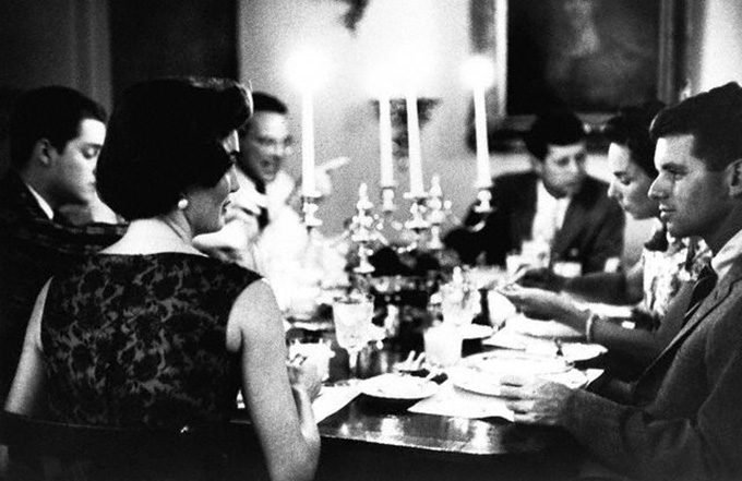 Kennedy dinner party