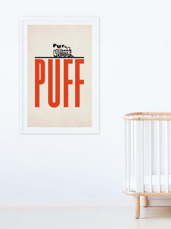 Puff Poster