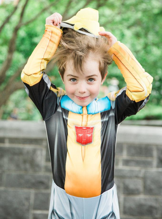 Toby's costume