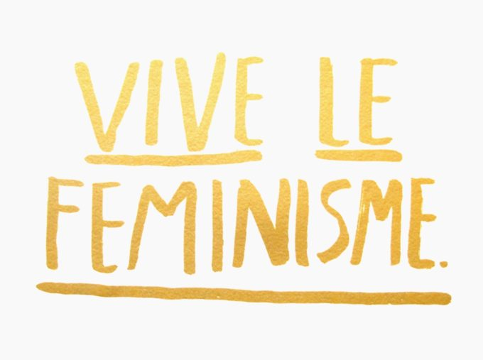 vive-le-feminisme-print-card-poster