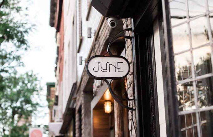 June Wine Bar in Brooklyn
