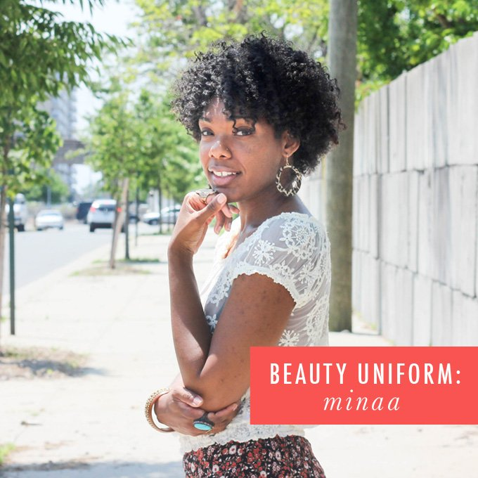 beauty uniform: minaa