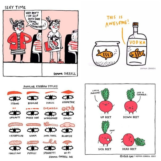 Gemma Correll on Instagram