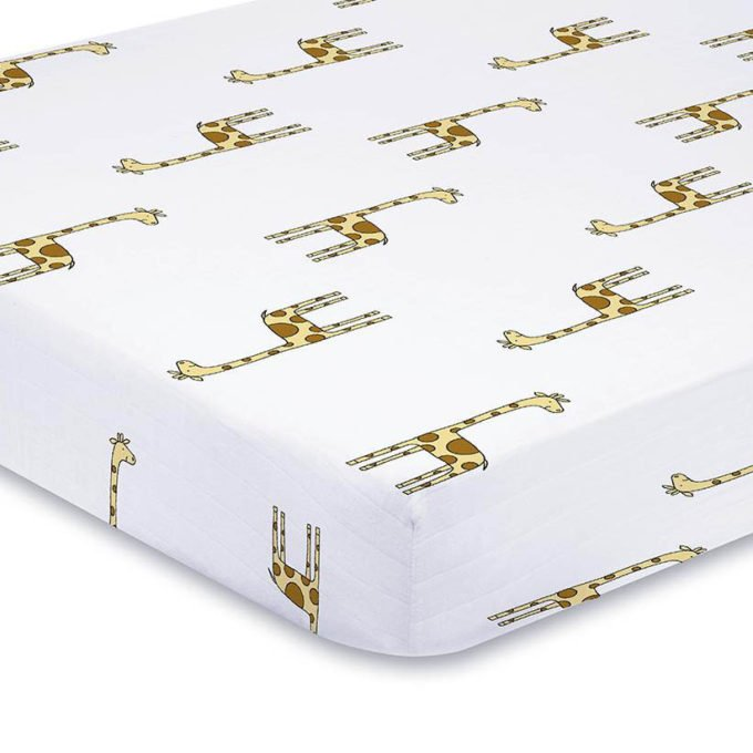 Giraffe crib sheets