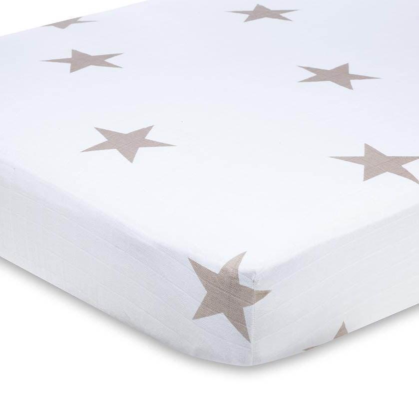 Stars crib sheets