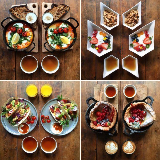 Symmetry Breakfast on Instagram