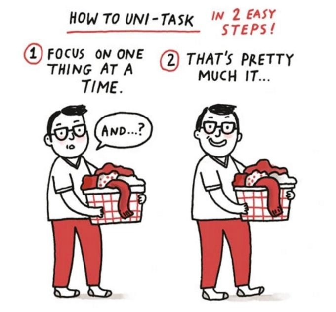 The Joy of Single-Tasking