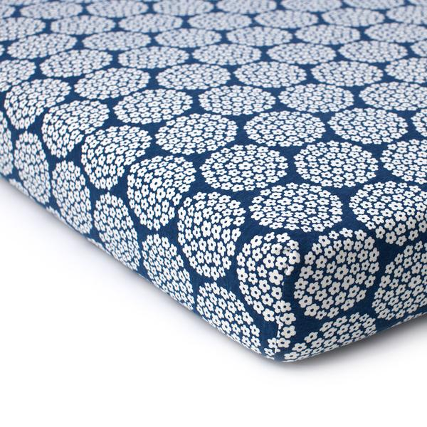 Winter Water Factory crib sheets