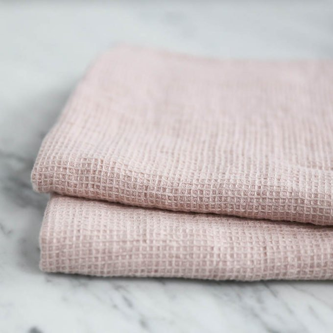 Blush Linen Towel