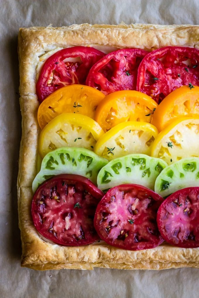 Heirloom Tomato and Ricotta Tart | A Cup of Jo