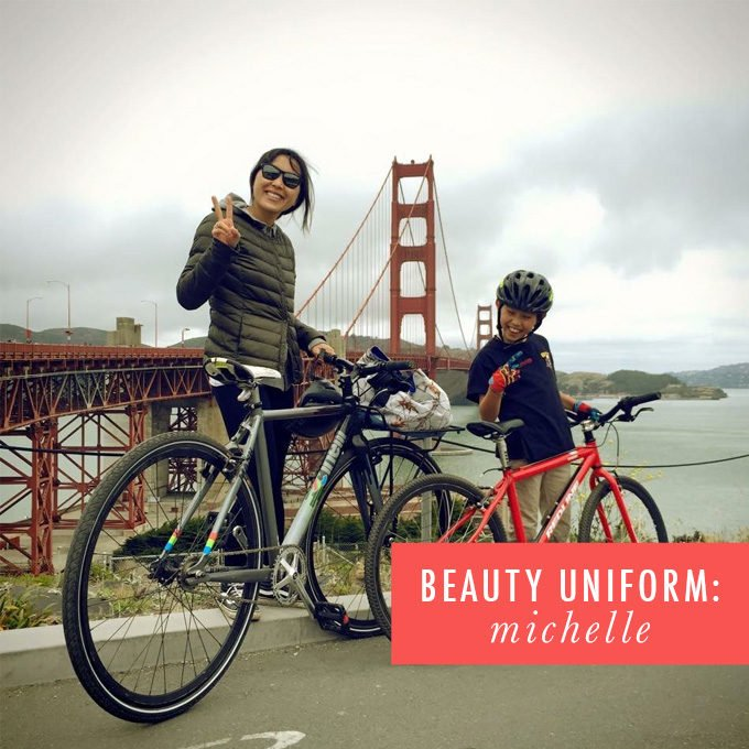 beauty uniform: michelle peterson