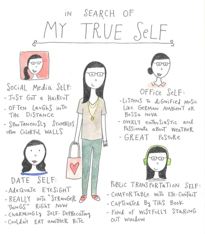 Funny Illustration by Mari Andrew