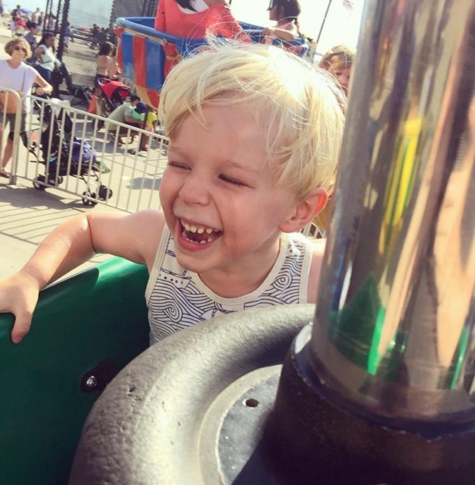 Anton at Coney Island