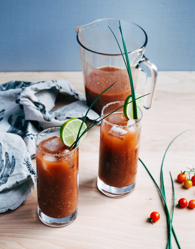 Bloody Maria With Fresh Tomato