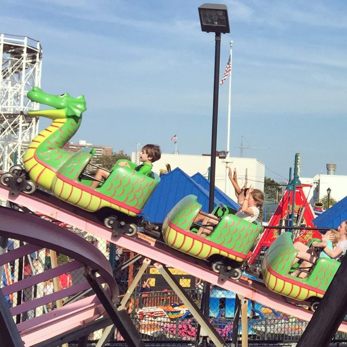 Toby at Coney Island