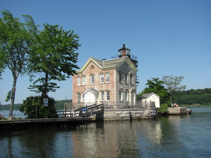 Saugerties Lighthouse in the Hudson Valley